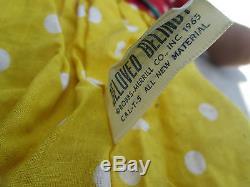 16 African American Black Cloth Raggedy Ann Beloved Belindy by Knickerbocker