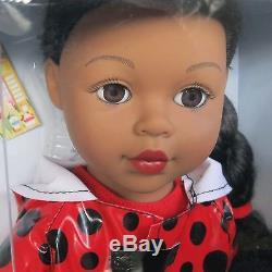 18 Doll African American Madame Alexander Girlz Rainy Days