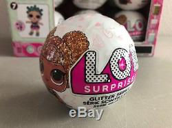 18 L. O. L Surprise Glitter Series Dolls with Full and Complete Display Case LOL NEW