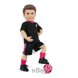 18 boy doll set, caucasian & african american, UN Women Special Edition NEW