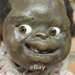 1920's vintage wax african american mary mcewen doll