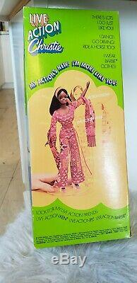 1970 Live Action CHRISTIE Doll New in MINT Box #1155 Vintage 1970's barbie