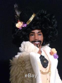 1970's Superfly Soultrain 70's Style African American OOAK Barbie AA Ken doll