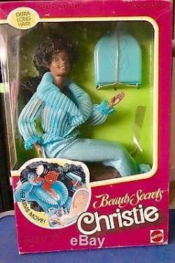 1979 Beauty Secrets Christie Doll African American AA Classic Barbie No. 1295
