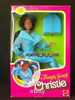 1979 Beauty Secrets Christie Doll African American AA Classic Barbie No. 1295