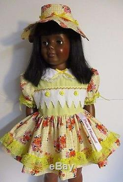 1981 IDEAL 35 Patti Playpal Doll, African American, Black Hair, Brown Eyes