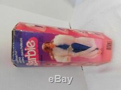 1983 Mattel BARBIE Doll FABULOUS FUR #7093 NRFB White Coat