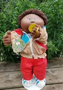 1985 HTF AA Cabbage Patch Kid with Box Marlow Antony Clothes Pacifier