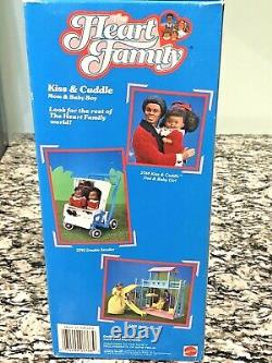 1986 Heart Family Doll AA Kiss & Cuddle Mom & Baby 3768 Steffie Face NRFB