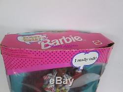 1991 Mattel TEEN TALK African American AA Barbie Doll #1612 SAYS MATH IS TOUGH