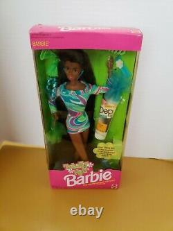 1991 Totally Hair Barbie Doll New African American Box Black Barbie 5948 New