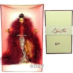 1998 Barbie African American Cinnabar Sensation By Byron Lars WORN Box