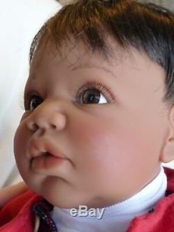 19African American black Lee Middleton Little Scottie Reva Schick baby boy doll