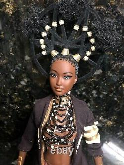 2001 Brand New MOJA Treasures Of Africa Barbie By Byron Lars Limited Edition