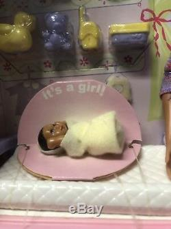 2002 -Mattel African American, HAPPY FAMILY PREGNANT MIDGE & BABYRARENIB