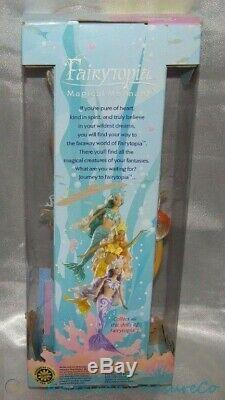 2003 BARBIE FAIRYTOPIA AFRICAN AMERICAN MAGICAL MERMAID CHRISTIE AA DOLL. New