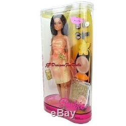2006 Barbie African American Fashion Fever Makeup Chic #J4183 New in Box