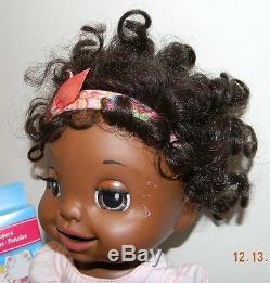2007 Hasbro Baby Alive African American Learn to Potty Interactive Doll. Works