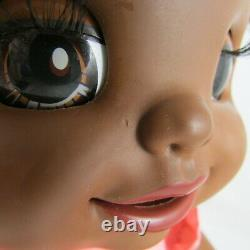 2007 Hasbro Black Baby Alive Learns to Potty Interactive Doll African American