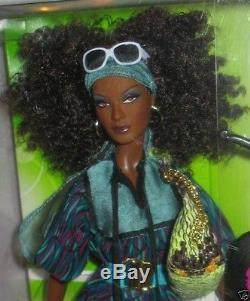 2007 Top Model AA NIKKI Barbie NRFB Mattel African American