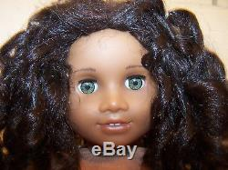 2011 American Girl 18 Doll CECILE + Outfits African American Hazel Eyes EX NR
