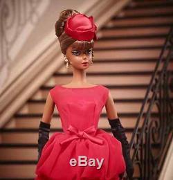 2015 BFMC Little Red Dress Silkstone Barbie African American IN STOCK