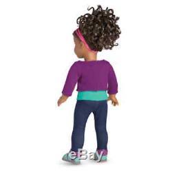 2017 American Girl GABRIELA 18 1st African American Doll of the Year Gabrielle