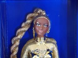 2017 Barbie Convention AA African American Golden Galaxy Signed Convention Doll
