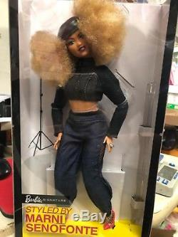 2018 Barbie Styled By Marni Senofonte African American New