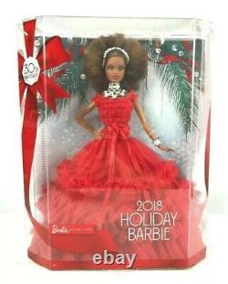 2018 Holiday Barbie Doll Signature Nikki African American Collector Mattel Doll