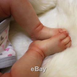20 Bebe Reborn Baby Boy Doll Soft Vinyl Silicone Lifelike Newborn Birthday Gift