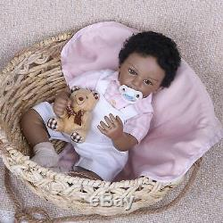 20 Ethnic Newborn Baby Boy African American Reborn Baby Dolls Biracial Silicone