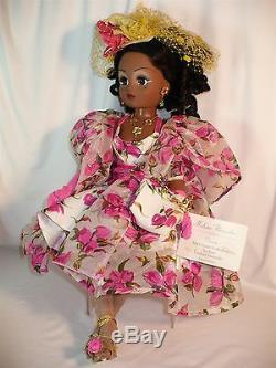 21 Cissy Tea Rose Cocktail Limited Edition AA African American Doll #22230