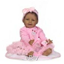 22 Black Baby Girl Dolls African American Reborn Toddler Real Soft Touch