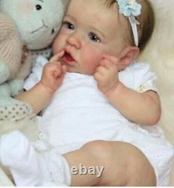 22 Life Like SOFT Vinyl Reborn Baby Doll Newborn Toddler Gift Silicone Girl Boy