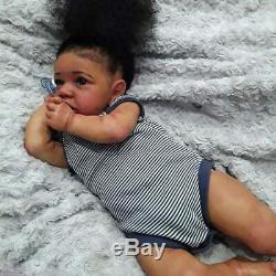 22'' Little Diana Reborn Baby Doll Girl Lifelike Soft Vinyl Doll Children Gift