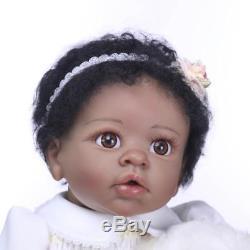 22 Reborn Baby Dolls Black Hair Reborn Biracial Newborn African American Girl