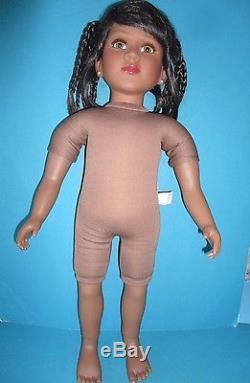23 My Twinn African American / Black doll Sharon face mold enhanced