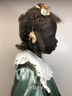 24 Artist Made Doll By Brigitte Starczewski Deval African American Girl Amazing