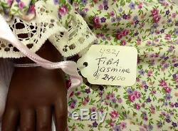 24 Fiba Jasmine Ltd Ed Doll No Box Dark Hair & Eyes African American New #4321