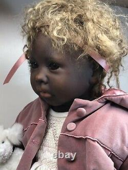 25 Artist Made Doll Kathleen By Pauline Middleton African American Detailed