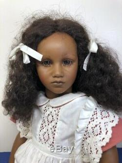27 Annette Himstedt Dolls Fatou Barefoot Children Beautiful African American