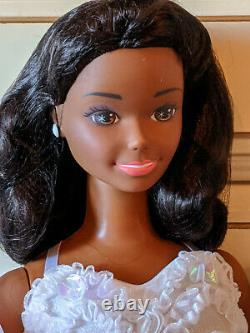 3 Ft African American Barbie My size Wedding doll. New in box Mattel