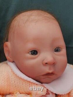 5lbs Reborn Baby Doll Vinyl Ethnic African American Newborn Native American skin