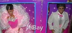 #6230 NRFB Vintage Mattel Dream Glow Barbie & Ken African American