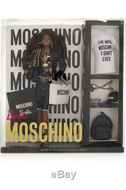 AA African American Moschino Barbie Doll BNIB Only 700