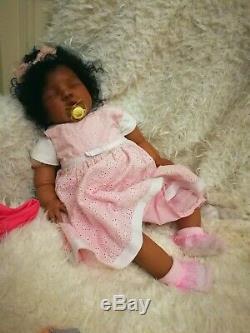 AA BIRACAL ETHNIC Reborn baby, Chrisy, girl bountiful baby