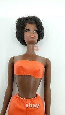 AA Barbie Talking Christie Doll Vintage 1969 1967 Loose Real Eyelashes