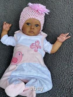 AA Biracial Chloe Reborn Baby One Of A Kind