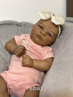 AA Biracial Reborn Baby Doll Ana